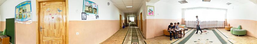 Третий этаж первого корпуса санатория им. Крупской